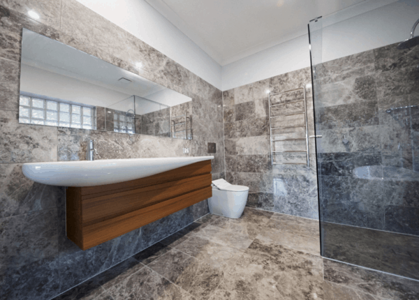Stone And Tile Bathroom Renovation In Drouin, Vic 3818 By Bathtime Bathrooms - Your Melbourne Bathroom Renovation Specialists - Get Bathroom Renovation Ideas